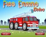 Tűzoltóautó parkoló